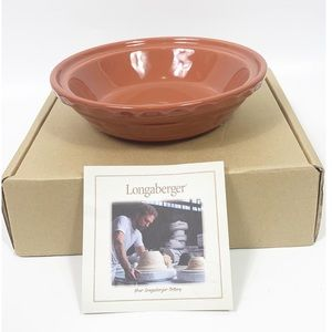 Longaberger Small 6 inch Pie Plate Spice